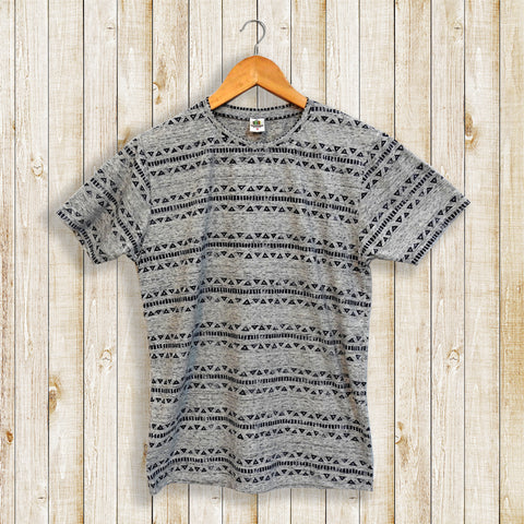 Hand Block Printed Men's T-shirt