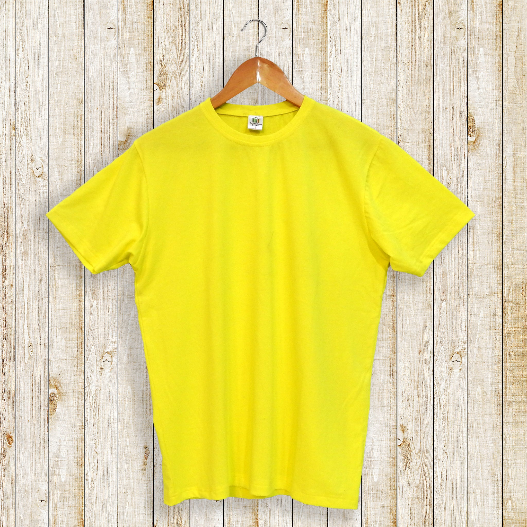 Canary Yellow Plain Women's Tee