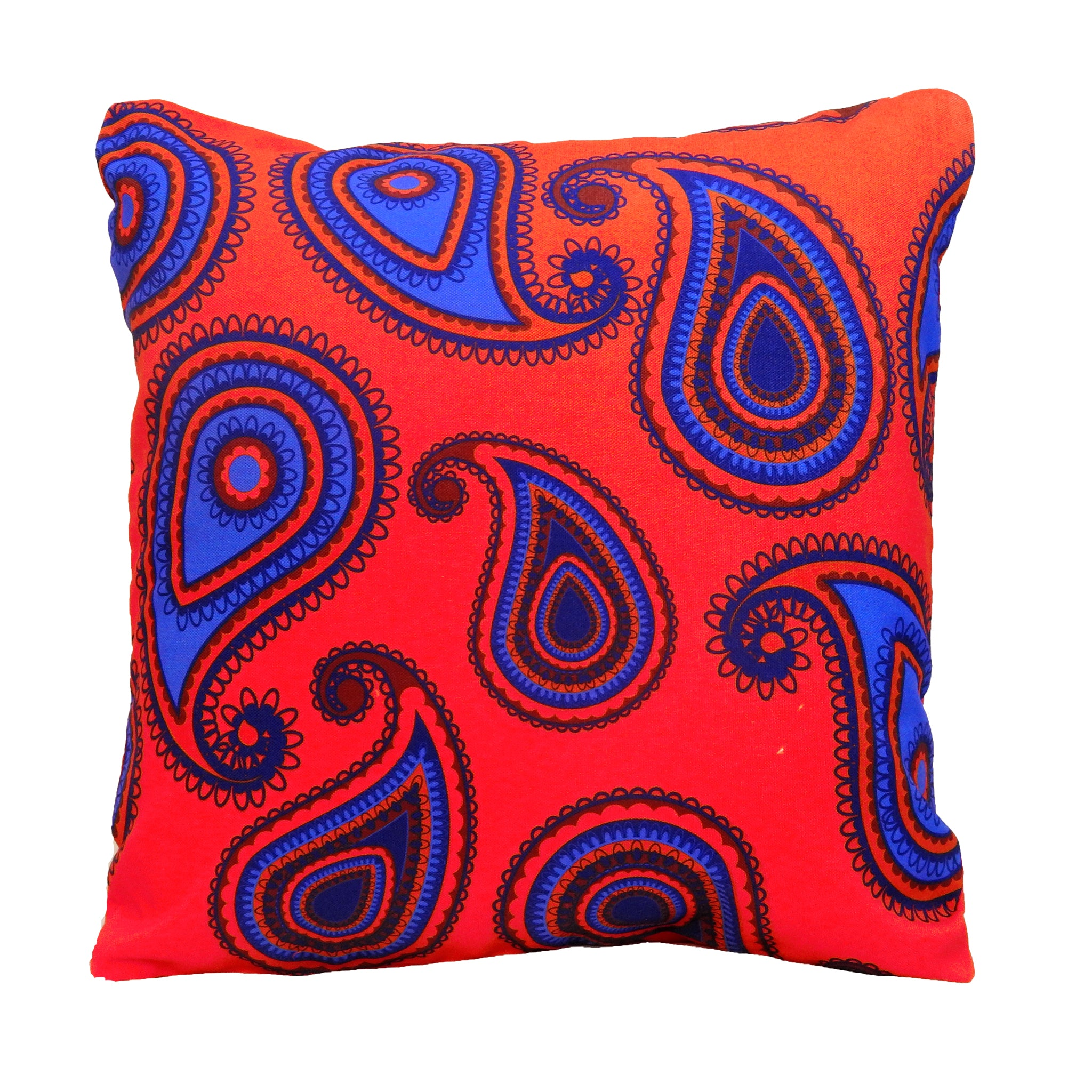 India's Favourite Paisley Print Cushion Cover