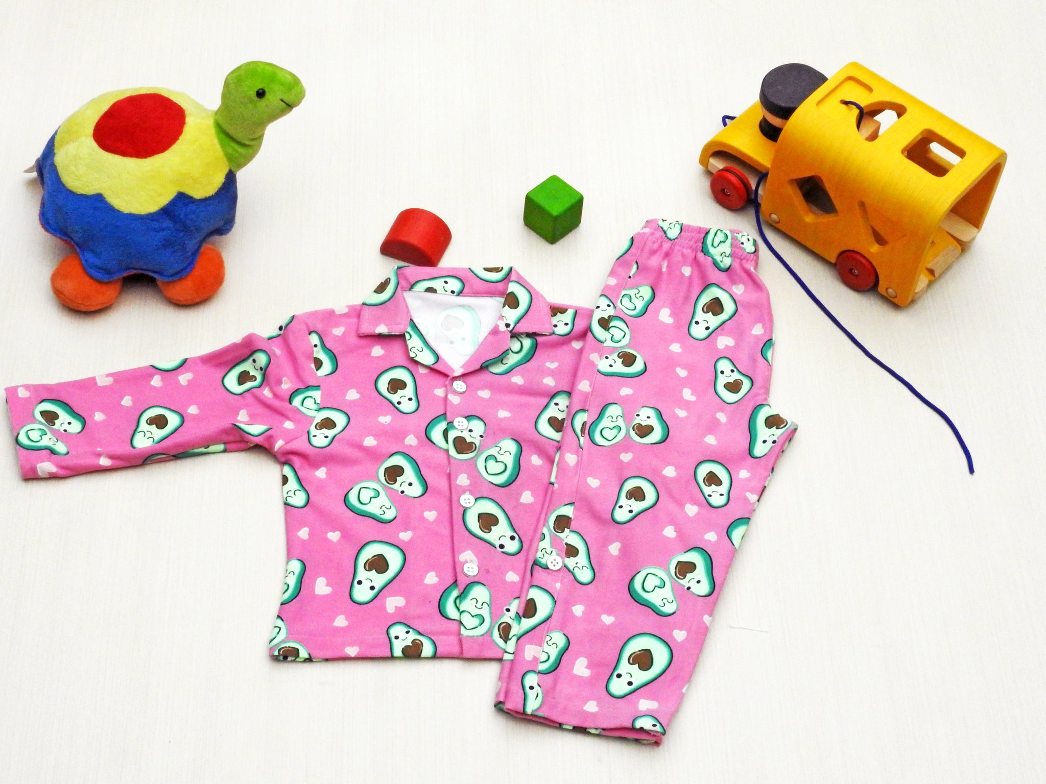 avocado-print-night-suit-for-kids-online