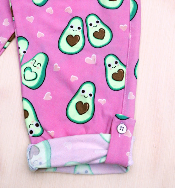 Avocado Print Girls Night Suit