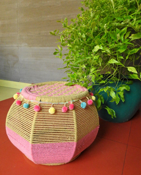 Pink Salt Pretty Poms Mudda Seat (Single Piece)