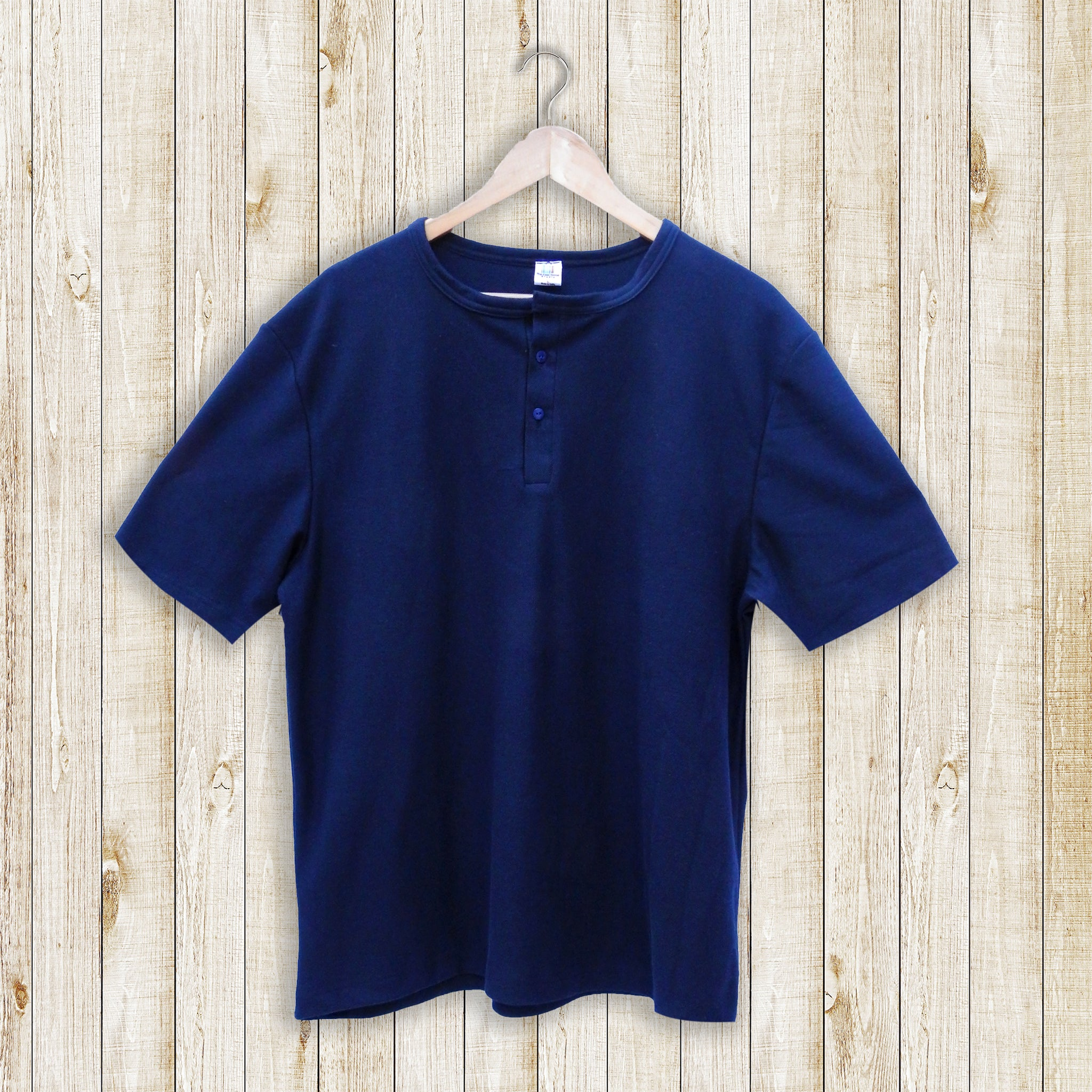 Navy Blue Men's T-shirt