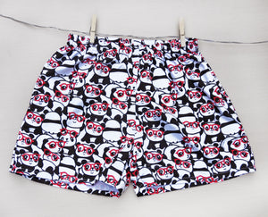 panda-print-boxer-shorts-for-girls