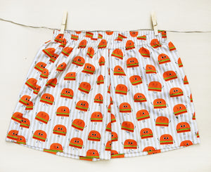 burger-shorts-online-for-women