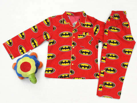 baby-boy-cotton-night-suit-in batman-print-online-india