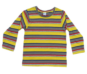 Canary Colour Pop Full Sleeves Kids Tee