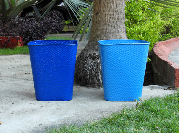 Shades Of Blue Planters- Set Of 2.