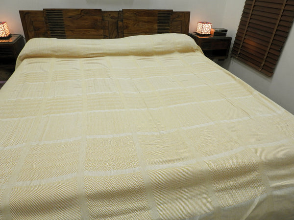 Buttercream Yellow Bed Cover