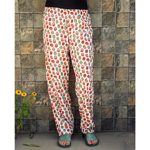 owl print women's pajamas with pockets online