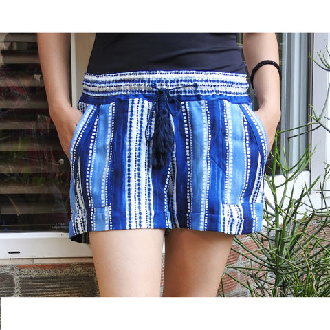 Santorini Shorts With Pockets