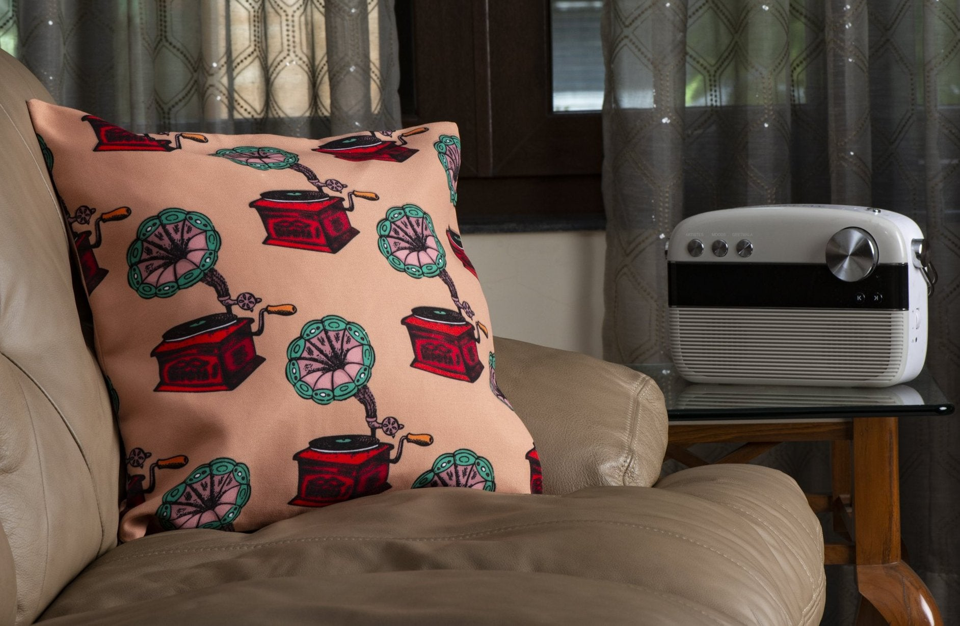 Record Player Cushion Cover
