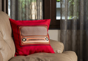 Vividh Bharti Days Cushion Cover