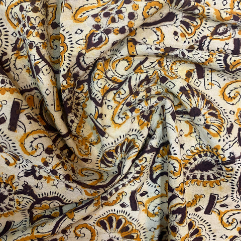Traditional Kalamkari Fabric