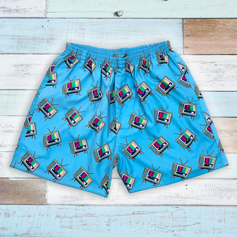 tv printed quirky boxers for men