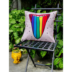 rolling-stone-tongue-print-love-is-love-cushion-cover