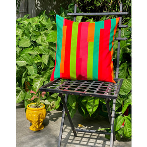 Colourful Stripes Cushion Cover
