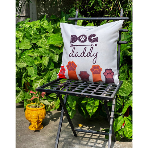 dog-daddy-cushion-cover-with-paw-prints-online-india