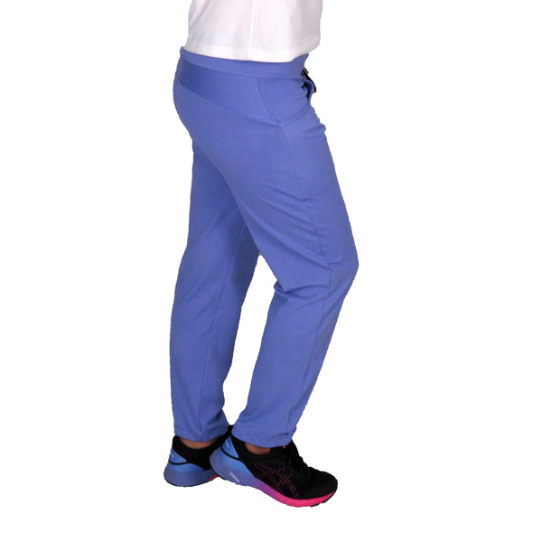 Plain Purple Comfy Lower With Two Pockets