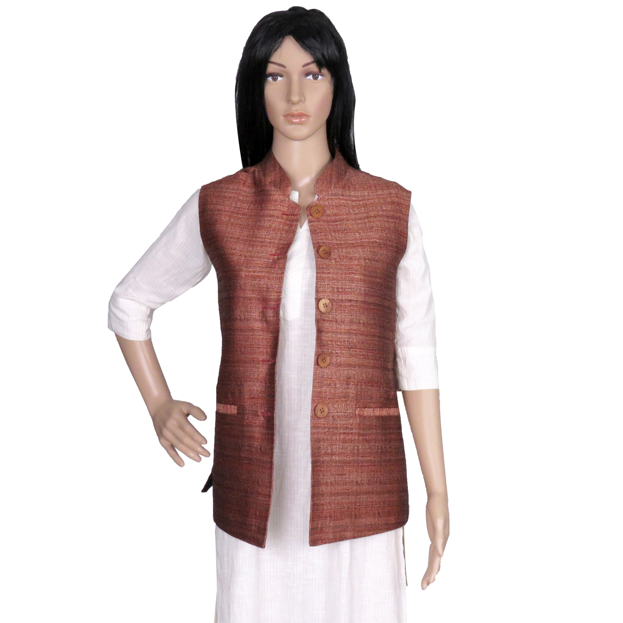 women's-khadi-jacket-online-India