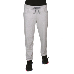Cool Grey Knitted Lower With  Pockets