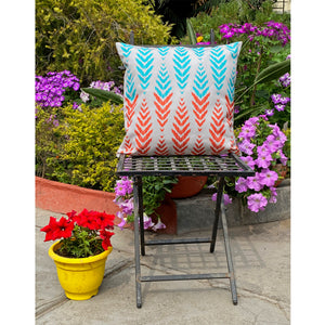 Colourful Leaves Cushion Cover
