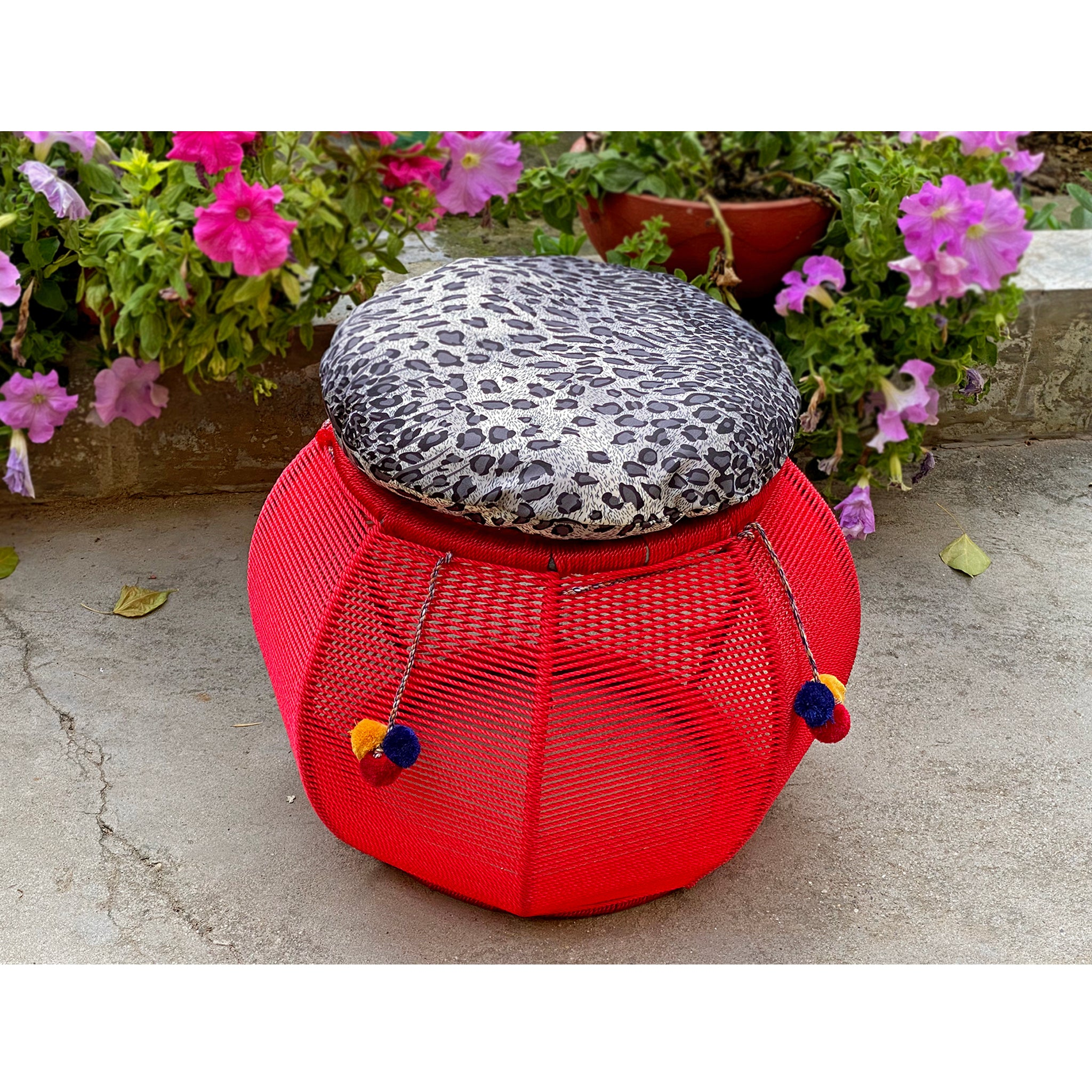 Red Chilli Cushy Mudda Seat (Single Piece)
