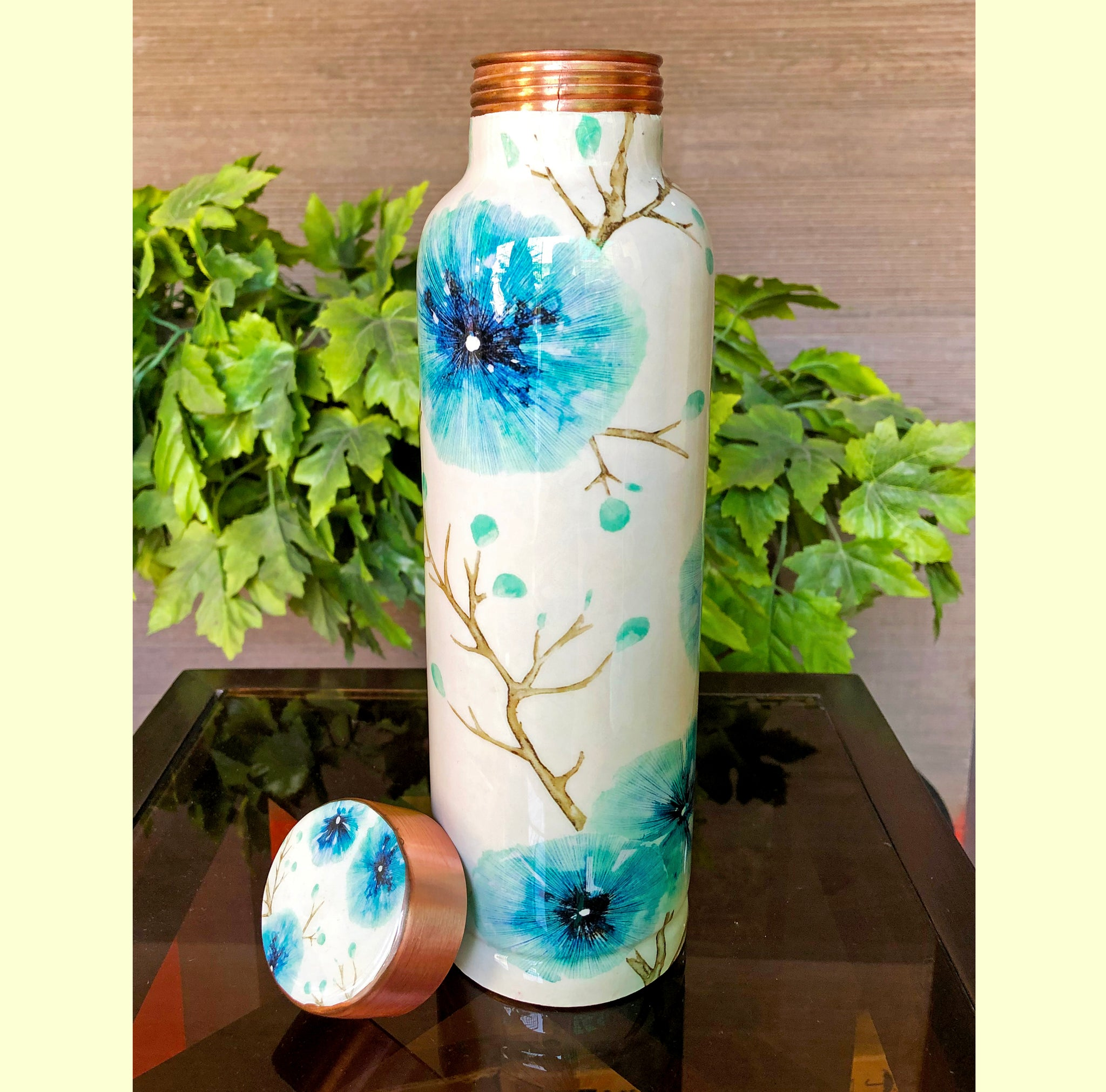 floral-pure-copper-water-bottle-online