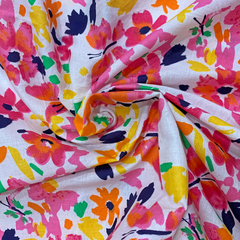 Garhwal Blooms Cotton Fabric