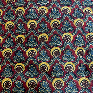 Tussar Silk Traditional Indie Print