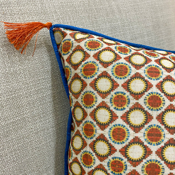 Tussar Silk Sooraj Kiran Cushion Cover