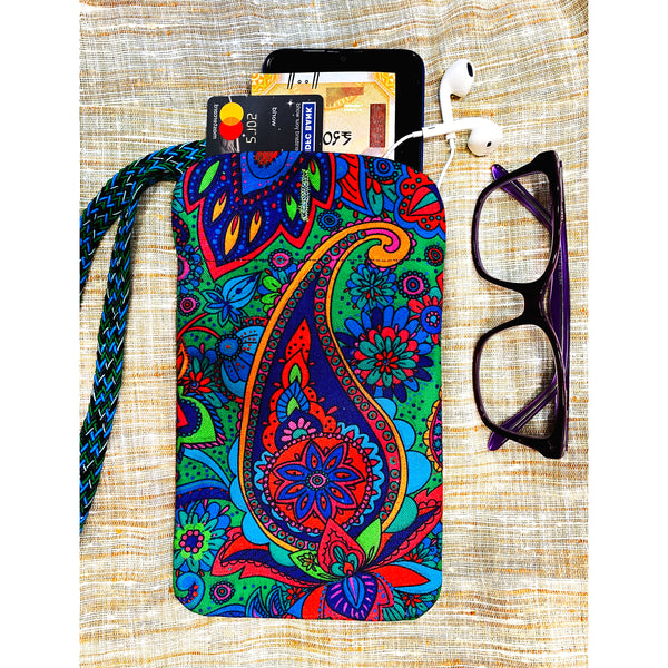 Indie Paisley Utility Pouch