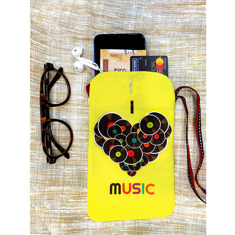 Music Lover Utility Pouch