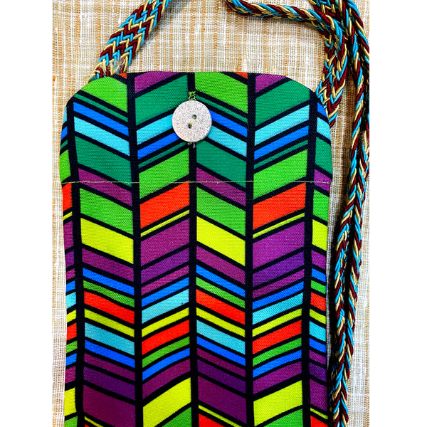 Colourful Geometric Utility Pouch