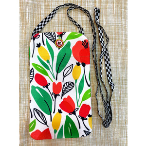 Floral Utility Pouch