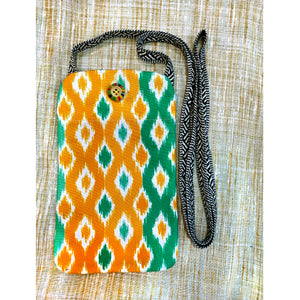 Turkish Print Ikat Utility Pouch
