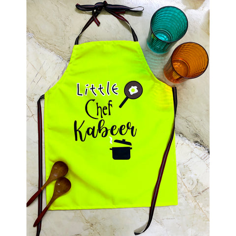 Personalised Apron For Kids