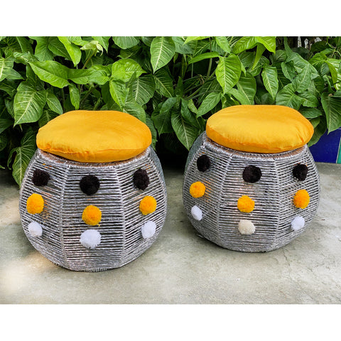 Genda Phool Bamboo Seats (Twin Set)