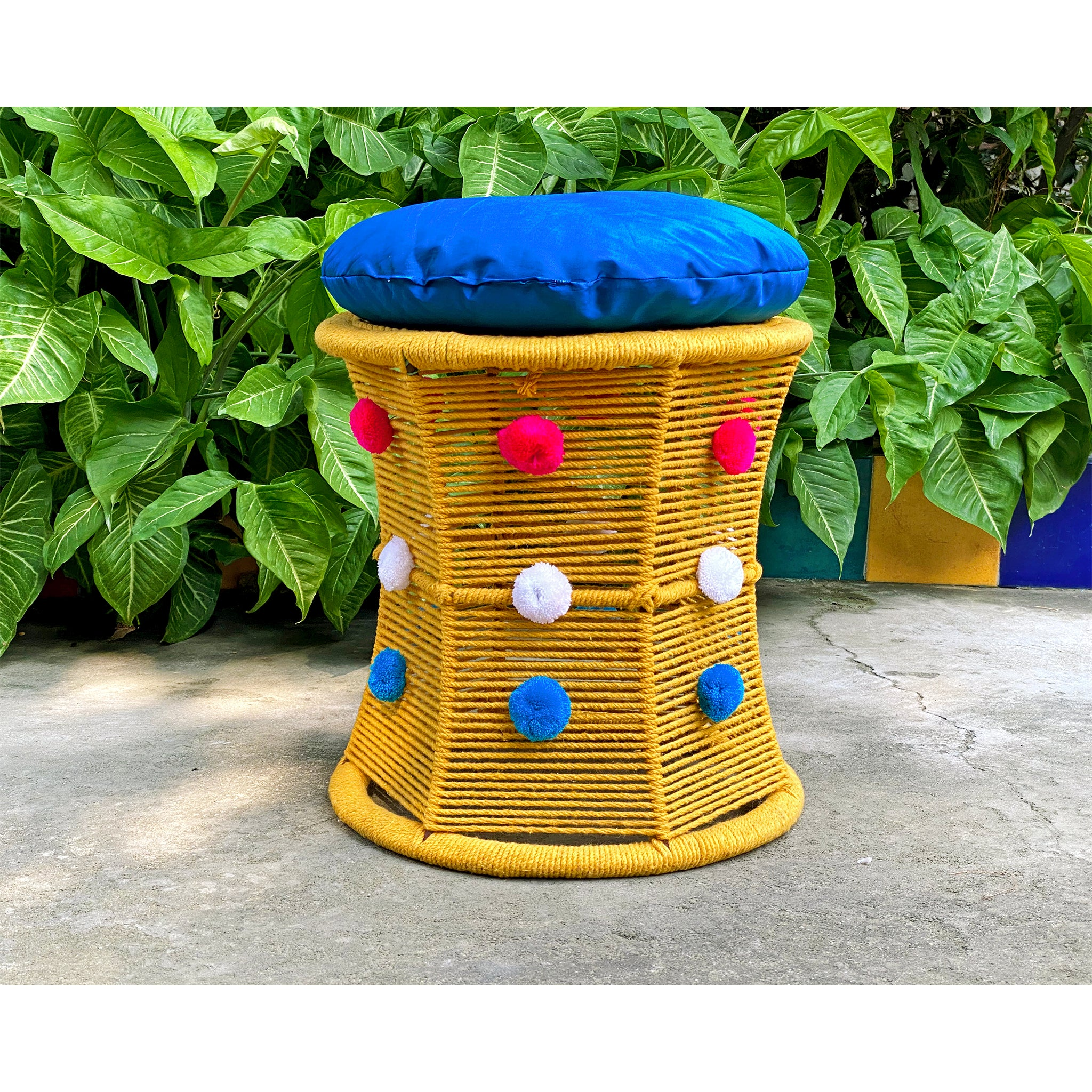 Pom Pom Love Bamboo Seat (Single Piece)