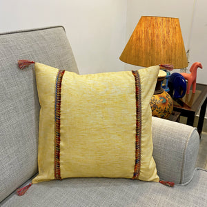 Butter Cream Linen Cushion Cover