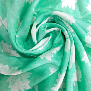 maple-leaf-print-on-aquamarine-cotton-fabric