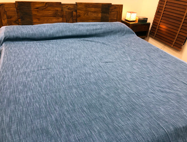 blue-colour-bed-cover-fabindia-style