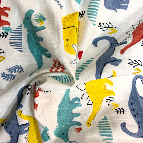 thin-cotton-fabric-in-dinosaur-print-online