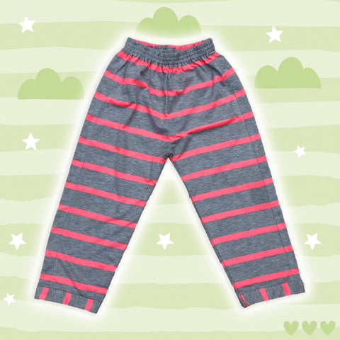 Pink Striped Cotton Lower