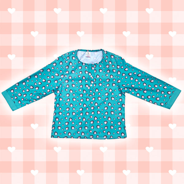 Baby Penguins Girls Night Suit