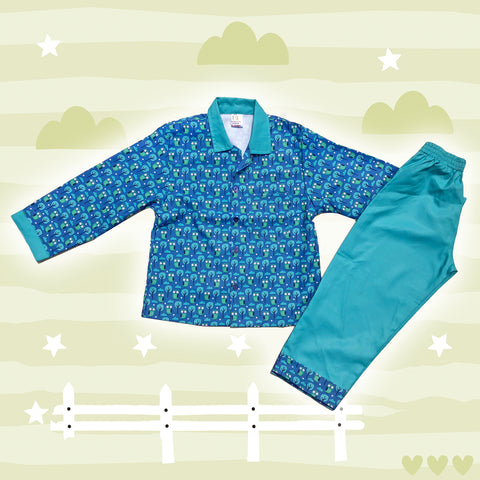 Little Owls Boys Night Suit