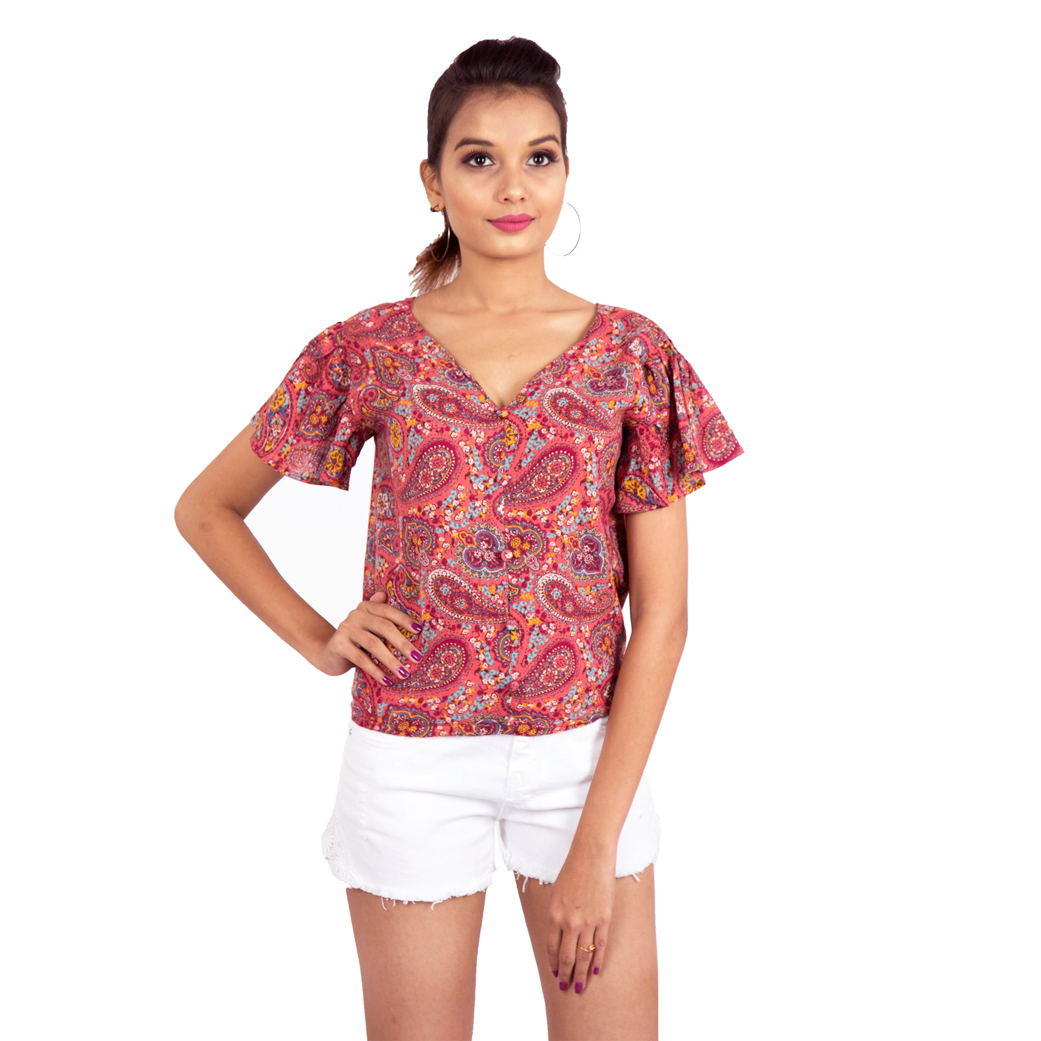 casual-paisley-print-top-for-ladies