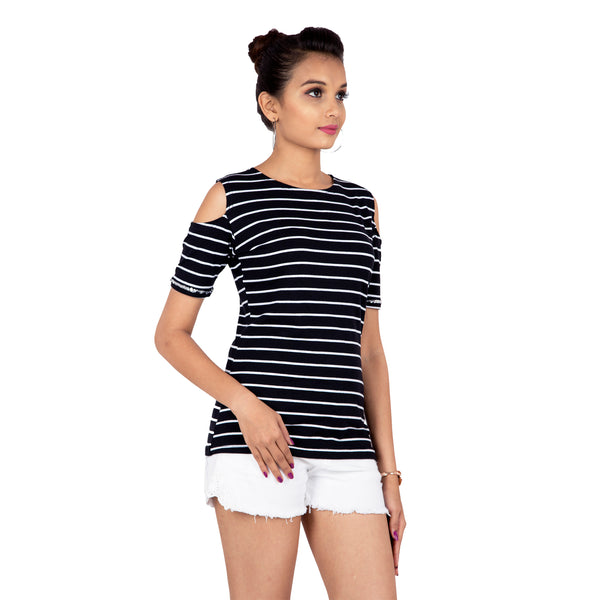striped-cold-shoulder-top-for-ladies-online