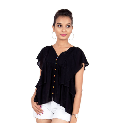 black-dressy-top-for-ladies-online