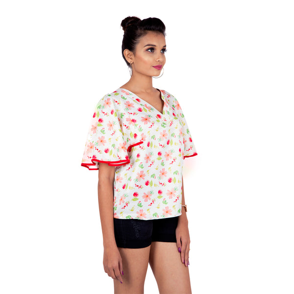online-floral top-for-women-in-latest-designs